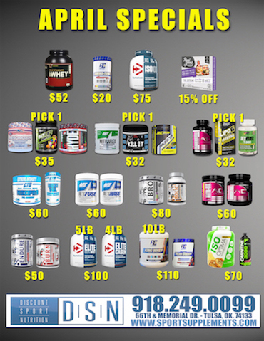 Top Supplement Specials DSN Tulsa