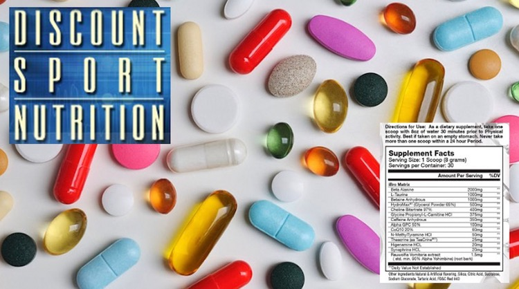 The Discount Sport Nutrition Supplement Ingredient List