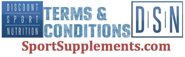 Discount Sport Nutrition Terms and Conditions