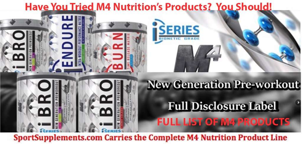 M4 Nutrition Supplement Product List DSN