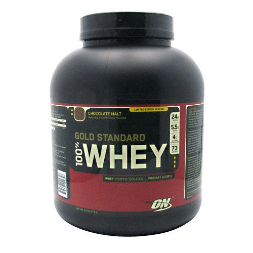 Optimum Nutrition Gold Standard 100% Whey - Chocolate Malt - 5 lb