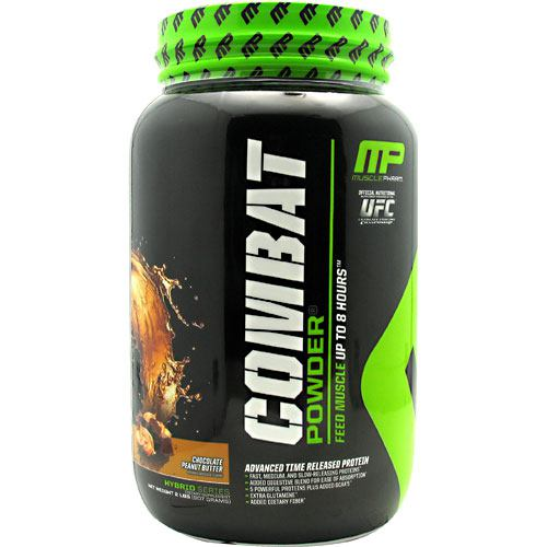 Muscle Pharm Hybrid Series Combat Powder - Chocolate Peanut Butter - 2 lb