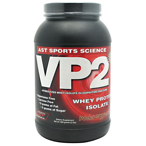 AST Sports Science VP2 Whey Protein Isolate - Mocha Cappuccino - 2 lb