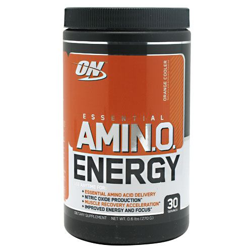 Optimum Nutrition Essential Amino Energy - Orange Cooler - 30 ea