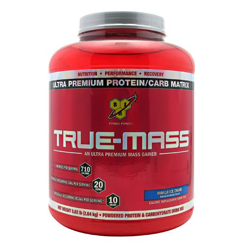 BSN True-Mass - Vanilla Ice Cream - 5.82 lb