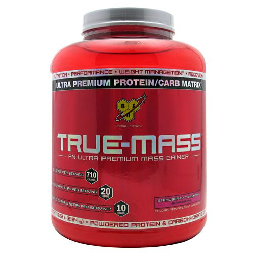 BSN True-Mass - Strawberry Milkshake - 5.82 lb