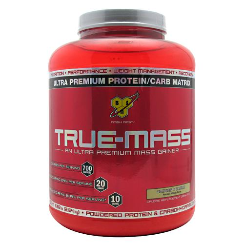 BSN True-Mass - Cookies & Cream - 5.82 lb