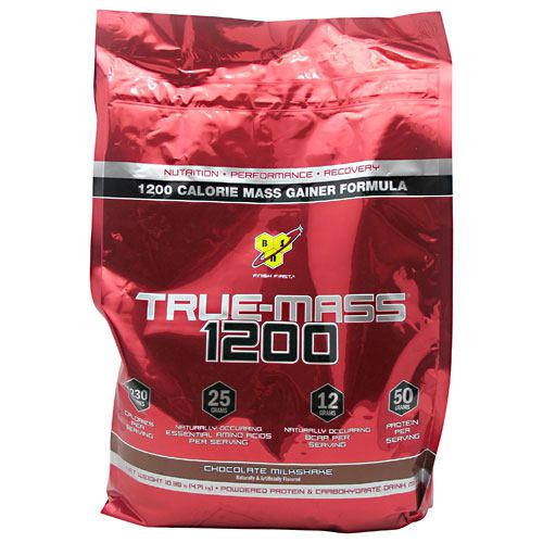 BSN True Mass 1200 - Chocolate Milkshake - 10.25 lb