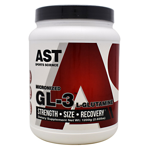 AST Sports Science Micronized GL3 L-Glutamine - 1200 g
