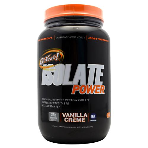 ISS OhYeah! Isolate Power - Vanilla Creme - 2 lb