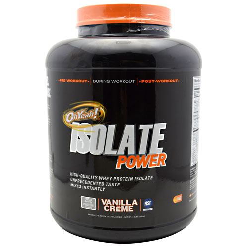 ISS OhYeah! Isolate Power - Vanilla Creme - 4 lb