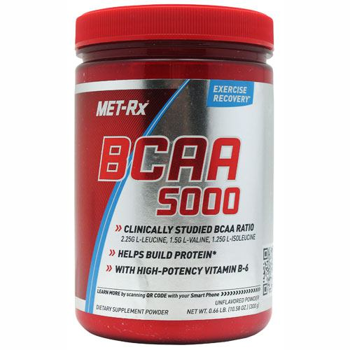 Met-Rx USA BCAA Powder - Unflavored - 300 g