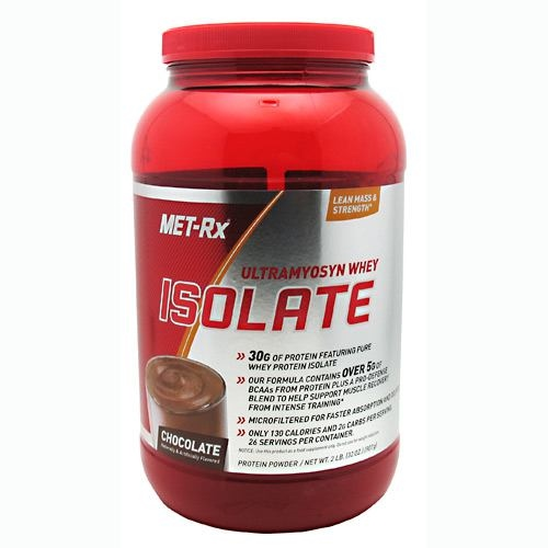 MET-Rx Ultramyosyn Whey Isolate - Chocolate - 2 lb