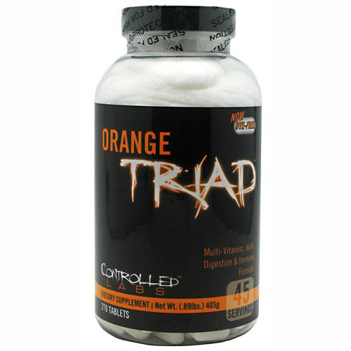 Controlled Labs Orange Triad - 270 ea