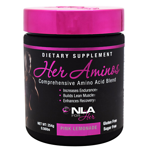 NLA For Her Her Aminos - Pink Lemonade - 30 ea