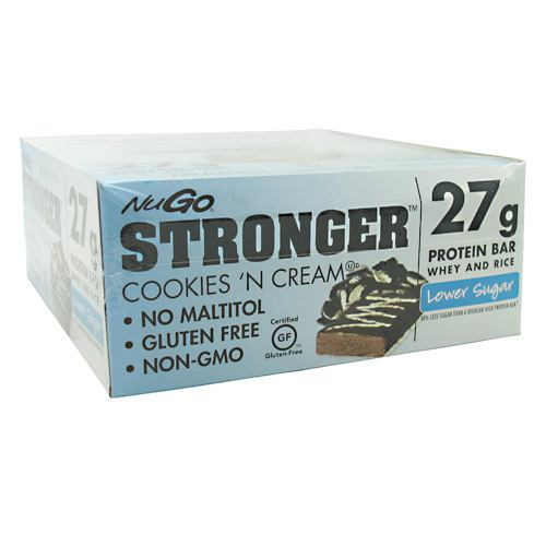 NuGo Nutrition NuGo Stronger - Cookies 'N Cream - 12 ea