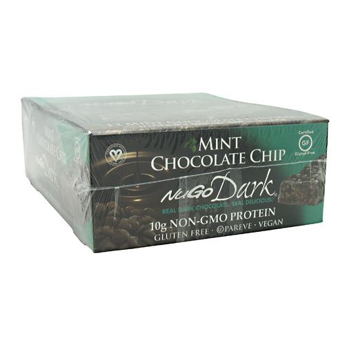 NuGo Nutrition NuGo Dark - Mint Chocolate Chip - 12 ea