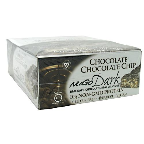 NuGo Nutrition NuGo Dark - Chocolate Chip - 12 ea