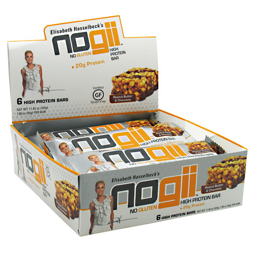 NoGii NoGii High Protein Bar - Peanut Butter & Chocolate - 6 ea