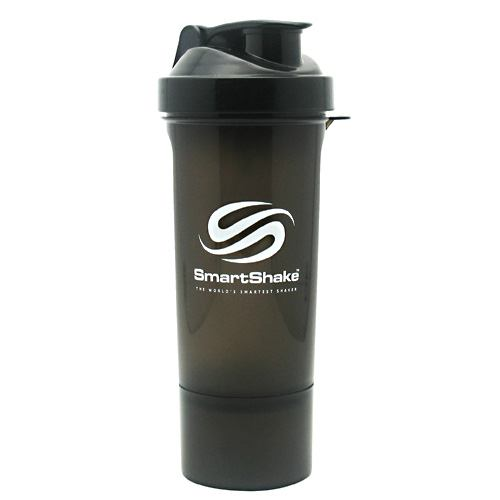 Smart Shake Slim Shaker Cup - Gunsmoke - 17 oz