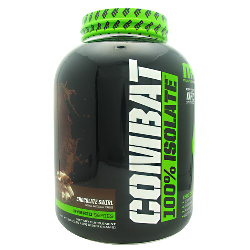 Muscle Pharm Hybrid Series Combat 100% Isolate - Chocolate Swirl - 5 lb