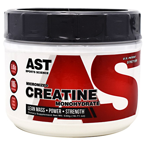 AST Sports Science Micronized Creatine Monohydrate - 530 g