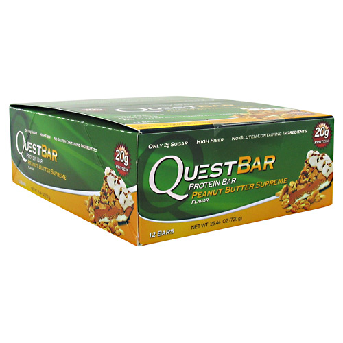 Quest Nutrition Quest Protein Bar - Peanut Butter Supreme - 12 ea