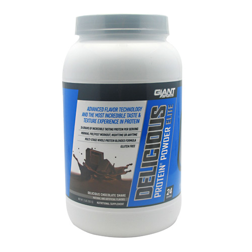 Giant Sports Products Delicious Protein - Delicious Chocolate Shake - 2 lb