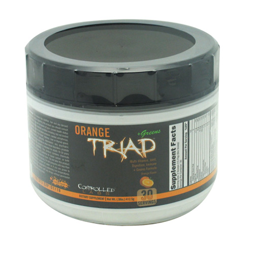 Controlled Labs Orange Triad + Greens - Orange - 30 ea