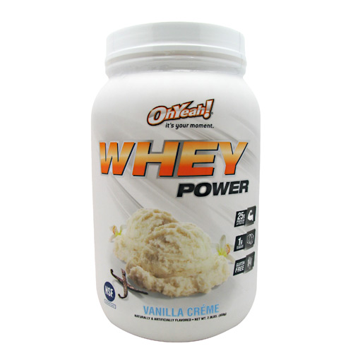ISS Oh Yeah! Whey Power - Vanilla Creme - 2 lb
