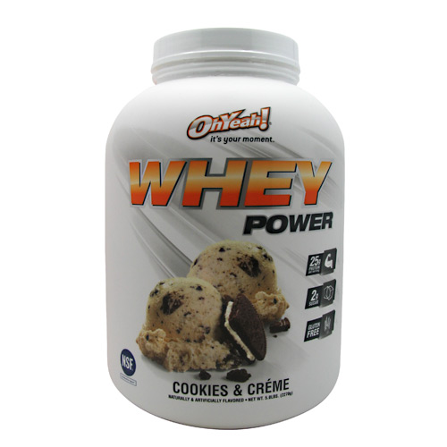 ISS Oh Yeah! Whey Power - Cookies & Creme - 5 lb