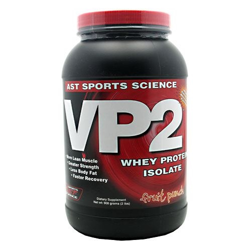 AST Sports Science VP2 Whey Protein Isolate - Fruit Punch - 2 lb