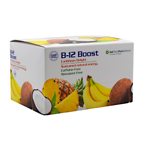 High Performance Fitness B-12 Boost - Carribean Delight - 12 ea