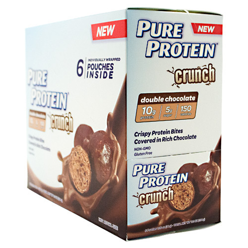 Pure Protein Pure Protein Crunch Bites - Double Chocolate - 6 ea