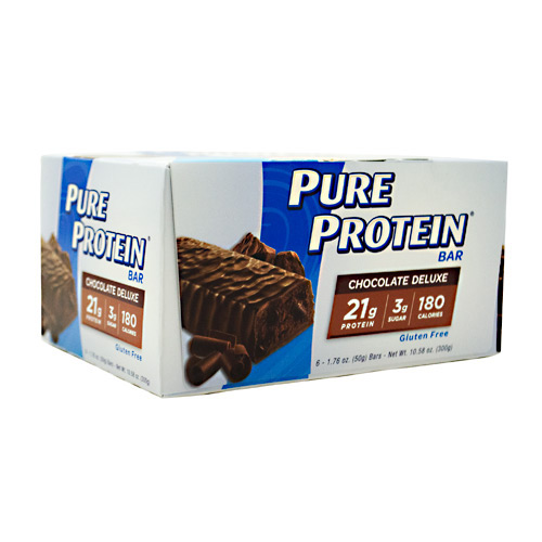 PURE PROTEIN Pure Protein Bar - Chocolate Deluxe - 6 ea