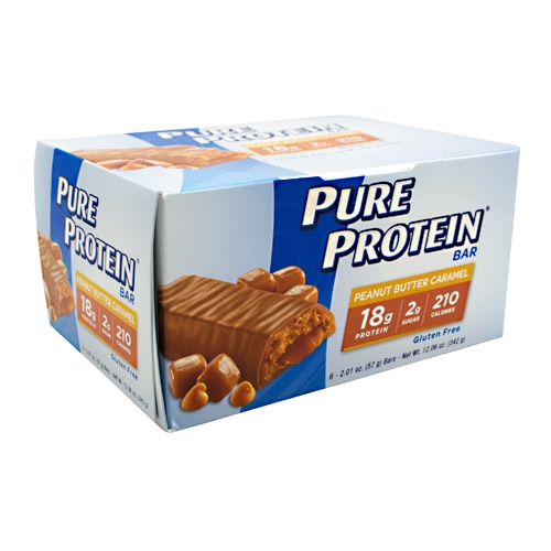 PURE PROTEIN Pure Protein Bar - Peanut Butter Caramel - 6 ea