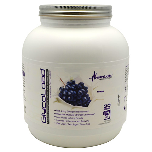 Metabolic Nutrition GlycoLoad - Grape - 600 g