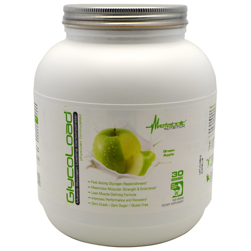 Metabolic Nutrition GlycoLoad - Green Apple - 600 g