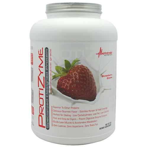 Metabolic Nutrition Protizyme - Strawberry Creme - 5 lb