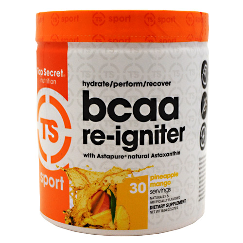 Top Secret Nutrition BCAA re-igniter - Pineapple  Mango - 9.3 g