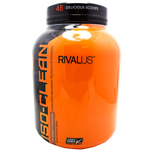 Rivalus ISO-Clean - Decadent Chocolate - 3.42 lbs