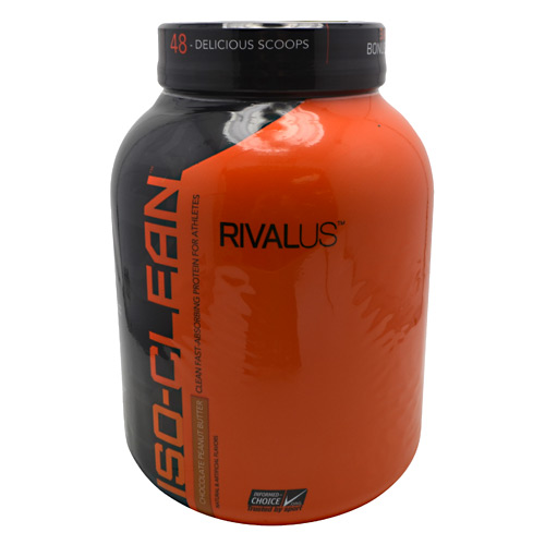 Rivalus ISO-Clean - Chocolate Peanut Butter - 3.42 lbs