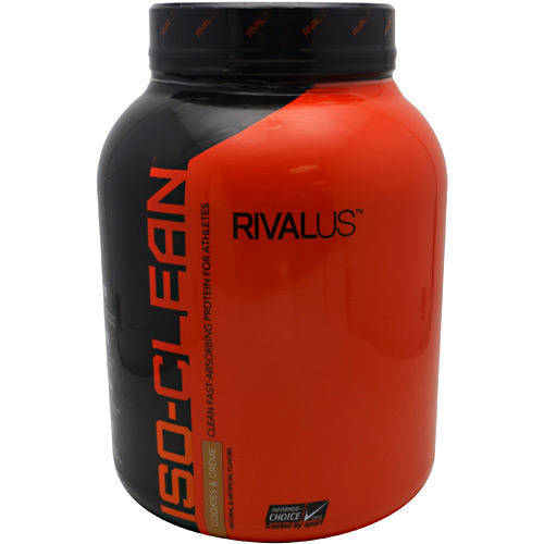 Rivalus Iso-Clean Rivalus Iso-Clean - Cookies & Cream - 3.28 lbs