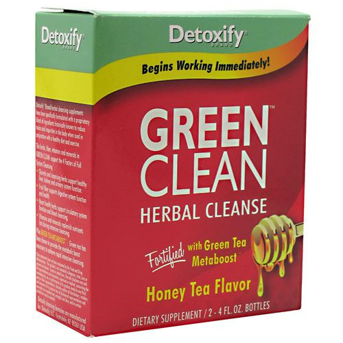 Detoxify LLC Green Clean - Honey Tea - 2 ea