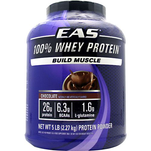 EAS 100% Whey Protein - Chocolate - 5 lb