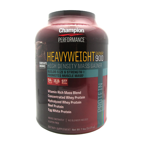 Champion Nutrition Heavyweight Gainer 900 - Chocolate Shake - 7 lb