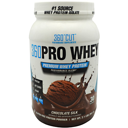 360Cut 360 Pro Whey - Chocolate Silk - 30 ea