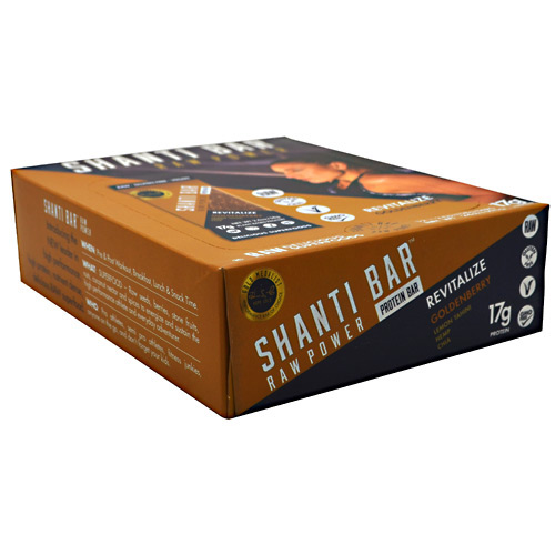 Shanti Bar Raw Power Protein Bar - Immunity Goldenberry - 12 ea