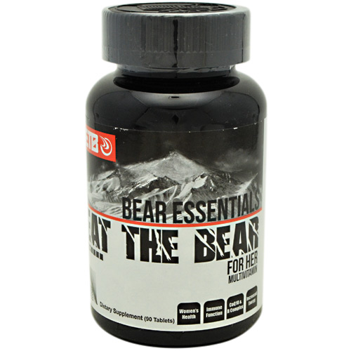 Eat The Bear Bear Essentials For Her Multivitamin - 90 ea