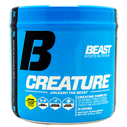 Beast Sports Nutrition Creature - Citrus - 150 g